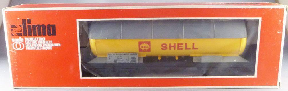 Lima 6765 Ech O Db Wagon Citerne à Bogies Shell Neuf Boite