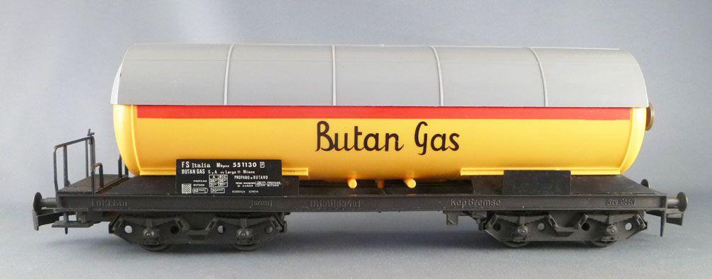 Lima 6770 Ech O Fs Wagon Citerne à Bogies Butan Gas Neuf Boite