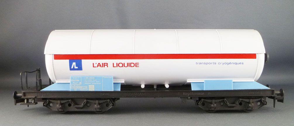 Lima 6770 Ech O Sncf Wagon Citerne à Bogies L\'Air Liquide Neuf Boite 5