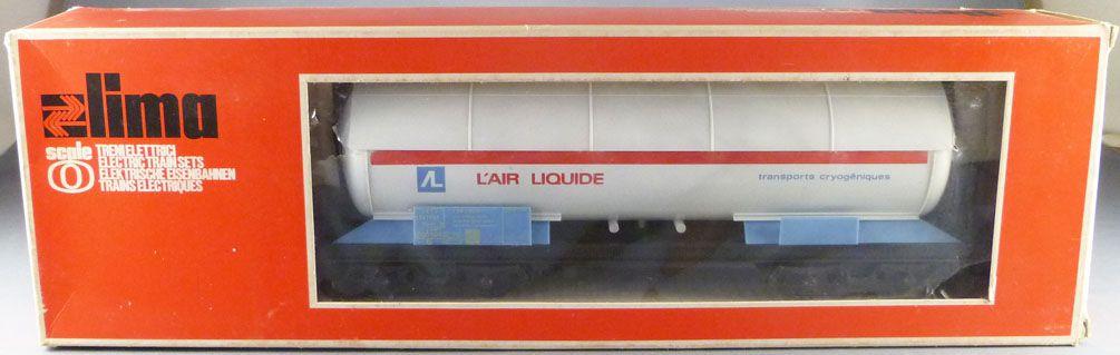 Lima 6770 Ech O Sncf Wagon Citerne à Bogies L\'Air Liquide Neuf Boite