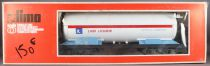Lima 6770 O Gauge Sncf L\'Air Liquide Tank Wagon with Bogies Mint in Box