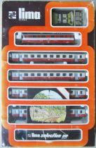 Lima 7624 Ho Sbb Cff Ffs Large Passengers Train Set Electric Loco Co-Co 11103 + 4 Coaches + 10 Curved Tracks + Transformer
