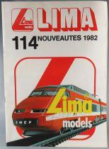 Lima Ho & N Catalogue Français Nouveautés 1982 12 Pages Couleur