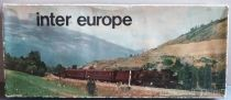 Lima Ho Fs Coffret Inter Europe Train Marchandises Loco Vapeur 020 4 Wagons 10 Rails Courbes