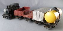 Lima Ho Fs Coffret Inter Europe Train Marchandises Loco Vapeur 020 4 Wagons 10 Rails Courbes
