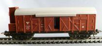 Lima Ho Sncf Wagon Couvert à Bogie Type M avec Eclairage Fin de Convoi