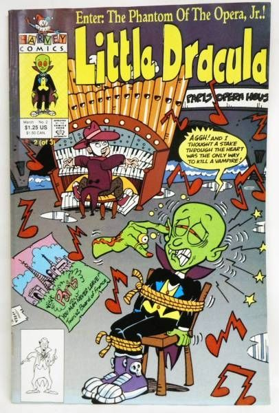 Little Dracula (Draculito) - Harvey Comics - Little Dracula (mini-série 3 numéros)