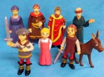 Little El Cid no Bôken - Set of 8 PVC figures