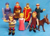 Little El Cid no Bôken - Set of 8 PVC figures