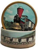 Little Interlude Train - VintageTin Candy Box