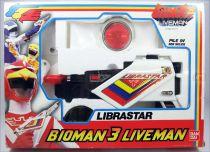 Liveman - Bioman 3 Librastar - Bandai France