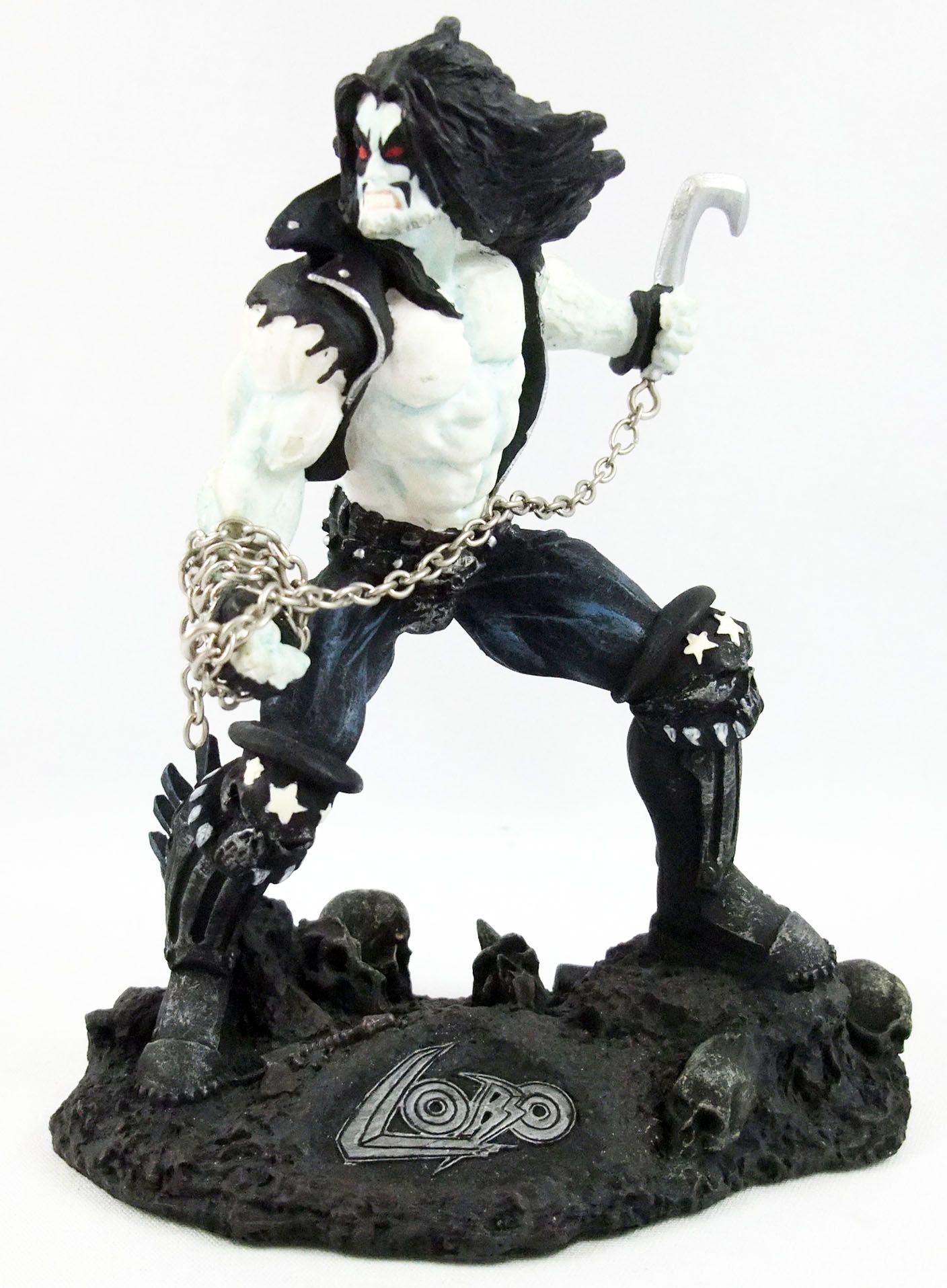 Lobo - Statue résine miniature 14cm - DC Direct Randy Bowen 1997