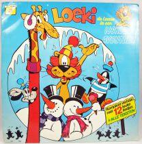 Loeki le Petit Lion - Disque 33Tours - L\'aventure glacée de Loeki - WSP 1987