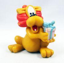 Loeki le Petit Lion - Figurine pvc Maia & Borges - Loeki avec cadeau