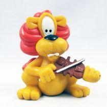 Loeki le Petit Lion - Figurine pvc Maia & Borges - Loeki joue du violon