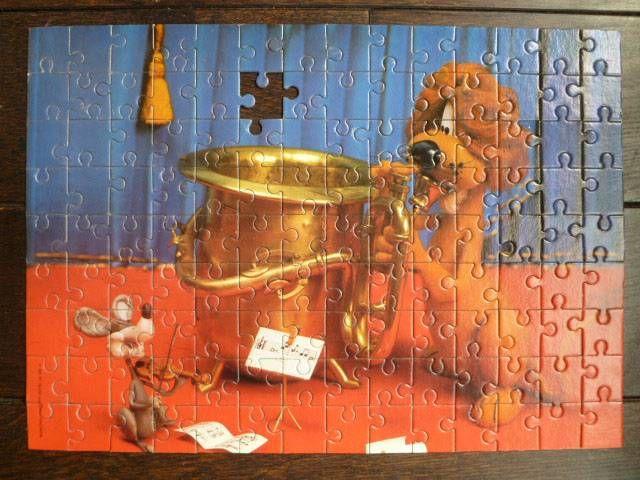 Loeki le petit lion - Puzzle Orli Jouet en boite TF1 Telecip Joop Geesink
