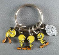 Looney Tunes - 5 Mini Porte Cléfs Emaillés  - Titi