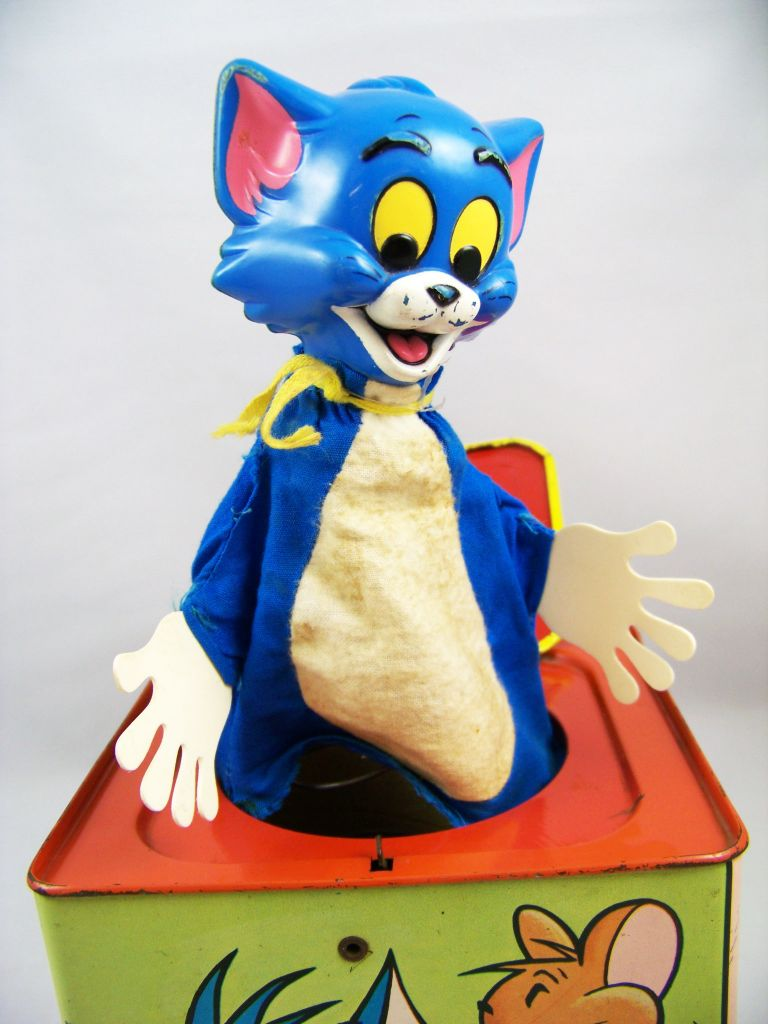 Looney Tunes - Boite à Musique (Diable en Boîte/Jack in the Box) - Mattel 1965 - Tom & Jerry