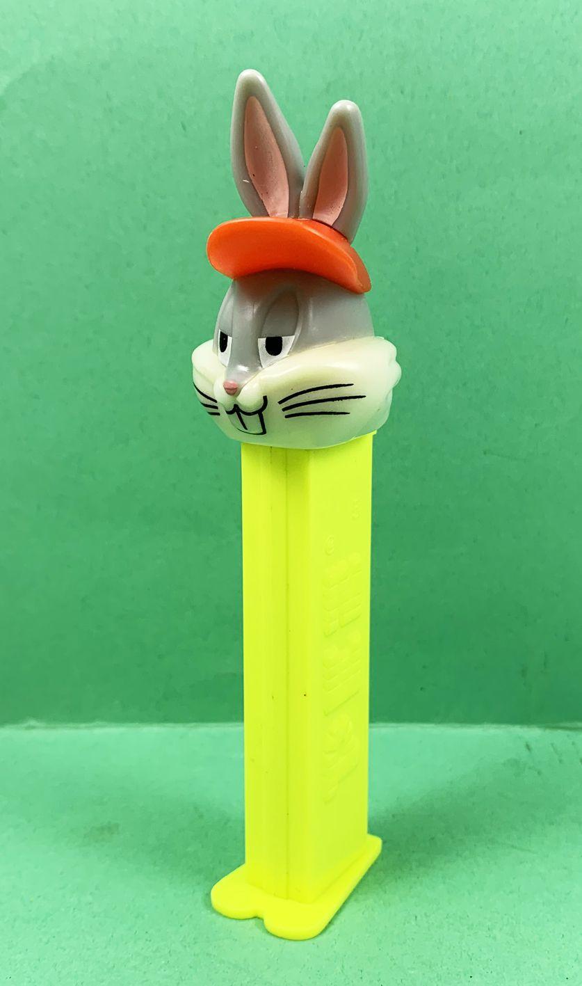 Looney Tunes - Distributeur PEZ - Bugs Bunny (patent number 4.966.305)