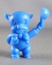Looney Tunes - Figurine Prémium Monochrome GF - Cochonnet (Bleu)