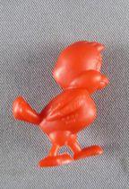 Looney Tunes - Figurine Prémium Monochrome GF - Oiseau Marchant (Rouge)