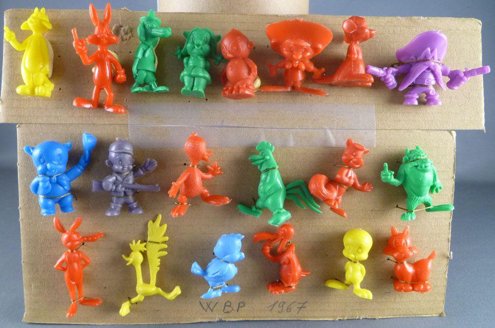 Looney Tunes - Figurine Prémium Monochrome GF - Série Complète de 20 Figurines