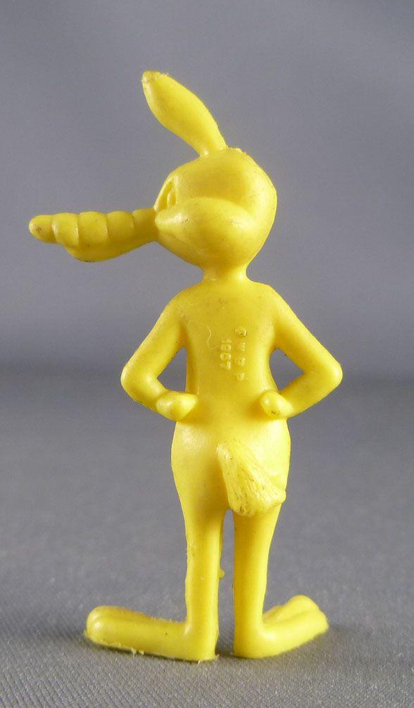 Looney Tunes - Figurine Prémium Monochrome GF - Vil le Coyote (Jaune)