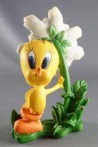 Looney Tunes - Figurine Résine Warner  - Titi et la Fleur