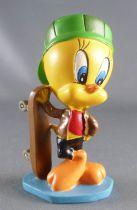Looney Tunes - Figurine Résine Warner  - Titi Skateboard