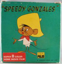 Looney Tunes - Film Super 8 Couleur Hefa SG 8504 - Speedy Gonzales dans la Gueule du Chat