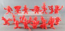Looney Tunes - GF Monocolor Premium Figure - Complete Set 20 Pieces (Red)
