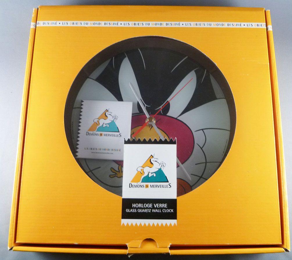 Looney Tunes - Horloge Murale Pendule Démons & Merveilles  - Titi & Sylvestre