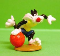 Looney Tunes - Mini PVC Figure 1999 - Sylvester Basketor