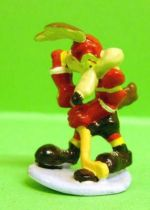 Looney Tunes - Mini PVC Figure 1999 - Wile E. Coyote Hockeyor