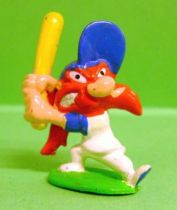 Looney Tunes - Mini PVC Figure 1999 - Yosemite Sam Baseball