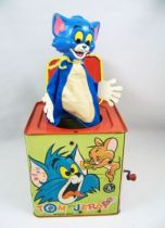 Looney Tunes - Music Box (Jack in the Box) - Mattel 1965 - Tom & Jerry