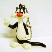 Looney Tunes - Schleich PVC Figure-Keychain 1985 - Sylvester