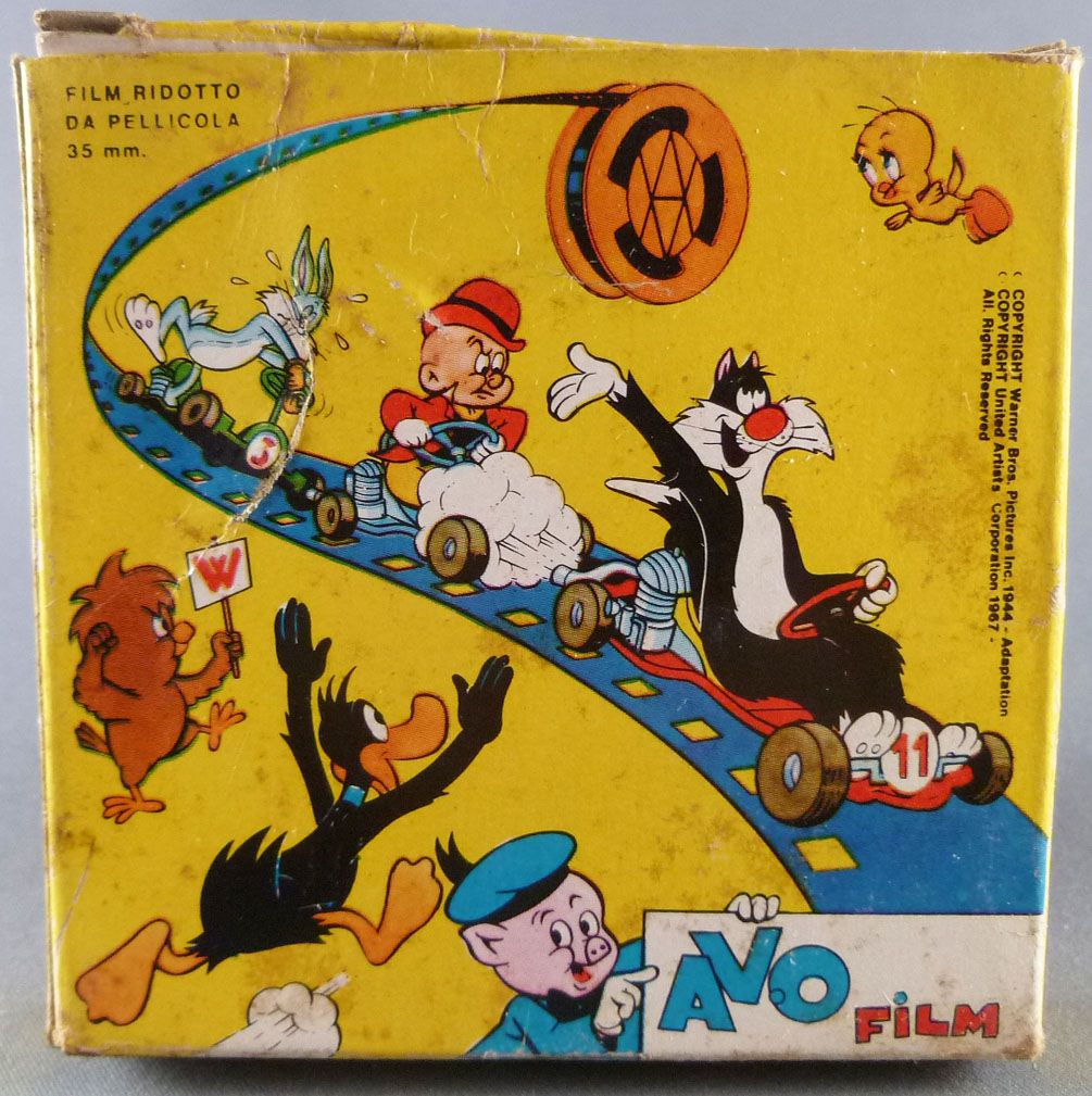 Looney Tunes - Super 8 Movie 15m Avo - Sylvestre and the Egg