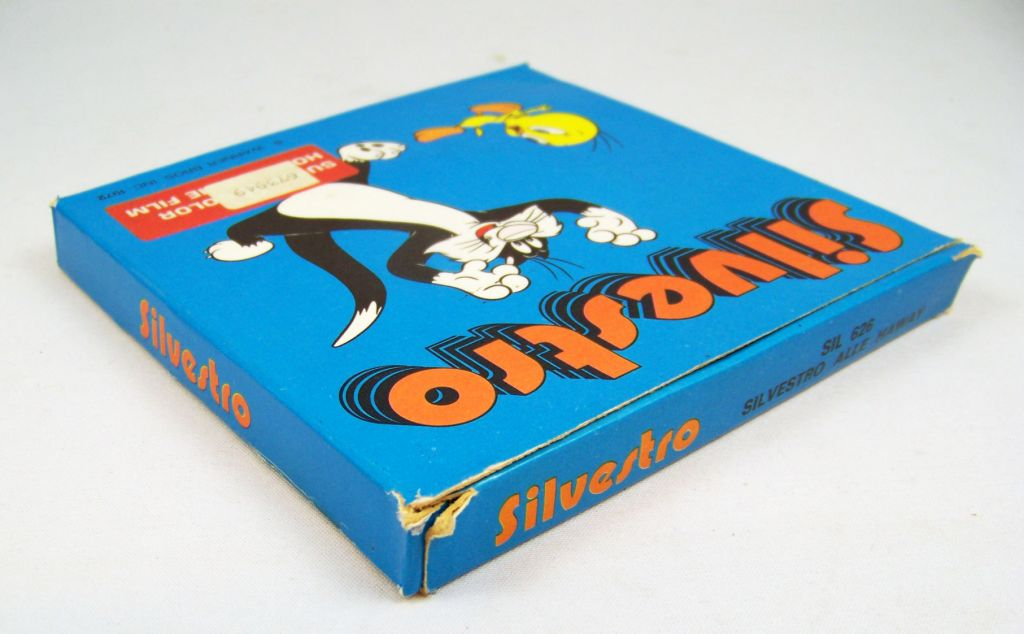 Looney Tunes - Film couleur Super 8 - Sylvestre 04