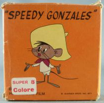 Looney Tunes - Super 8 Movie Color 15m Techno SG 550 - Speedy Gonzales Tennis Table Champ