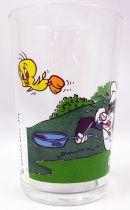 Looney Tunes - Verre à Moutarde Amora - Poursuite dans le jardin