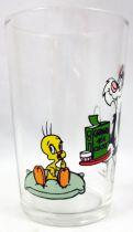Looney Tunes - Verre à Moutarde Amora - Titi et Grosminet : le repas de Titi