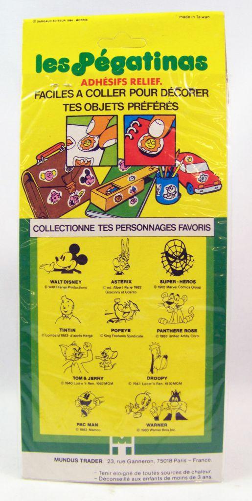 Lucky Luke -  3-D Stickers (Les Pégatinas) 1984 - Set #2
