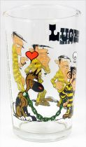 Lucky Luke - Amora Mustard Glass - Rantanplan loves Joe Dalton