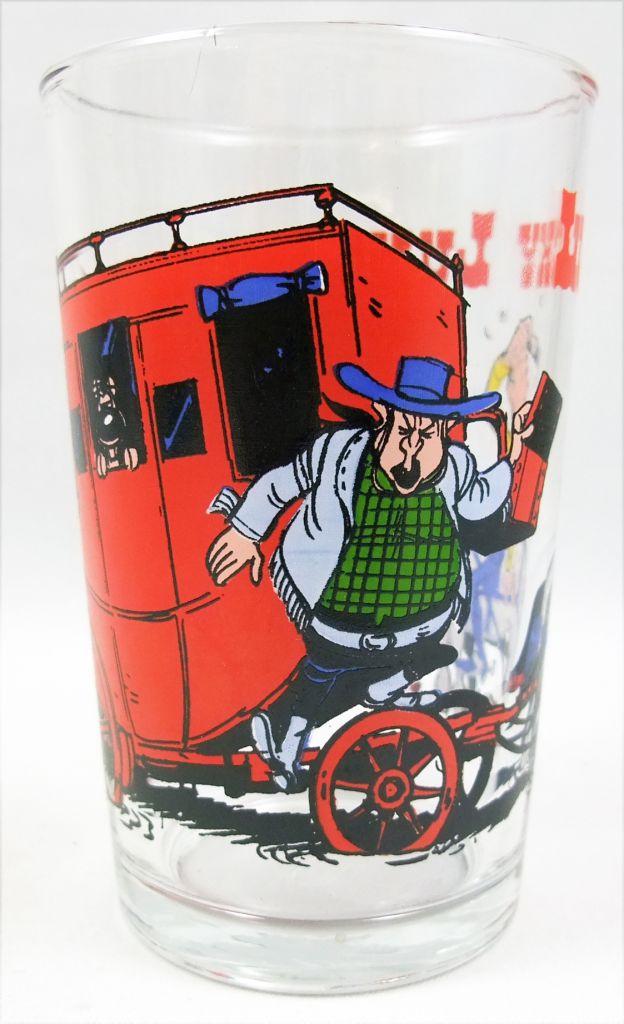 Lucky Luke - Amora Mustard Glass - The stagecoach