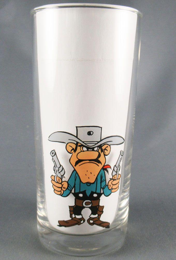 Lucky Luke - Atlas 207 Drinking Glass - Dalton