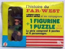 Lucky Luke - Brabo - Figure & puzzle  Dalton (Jack) Mint in box