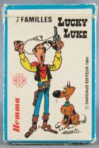 Lucky Luke - Cards game Happy Families 1984 Hemma