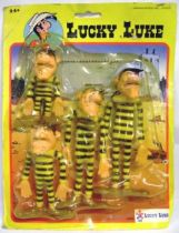 Lucky Luke - Ceji - Mint on card bendables The Daltons