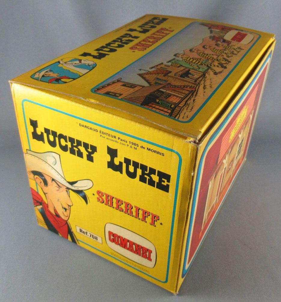 Lucky Luke - Comansi - Batiment Bureau Sheriff Neuf Boite Réf 707